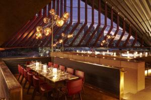 Bennelong restaurant at Sydney Opera House