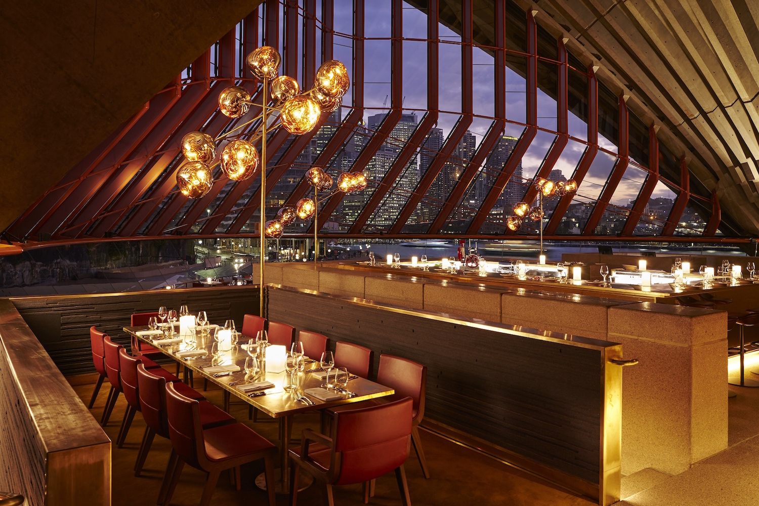 Bennelong restaurant at Sydney Opera House