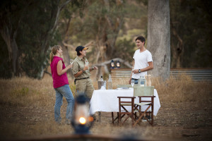 Outback luxury dining on the Arkaba Walk, Flinders Ranges, South Australia