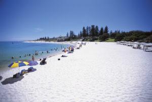 Cottesloe Beach in Perth