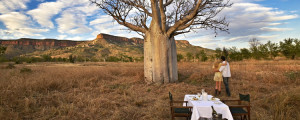 Boab Dining experience at El-Questro Homestead in The Kimberley