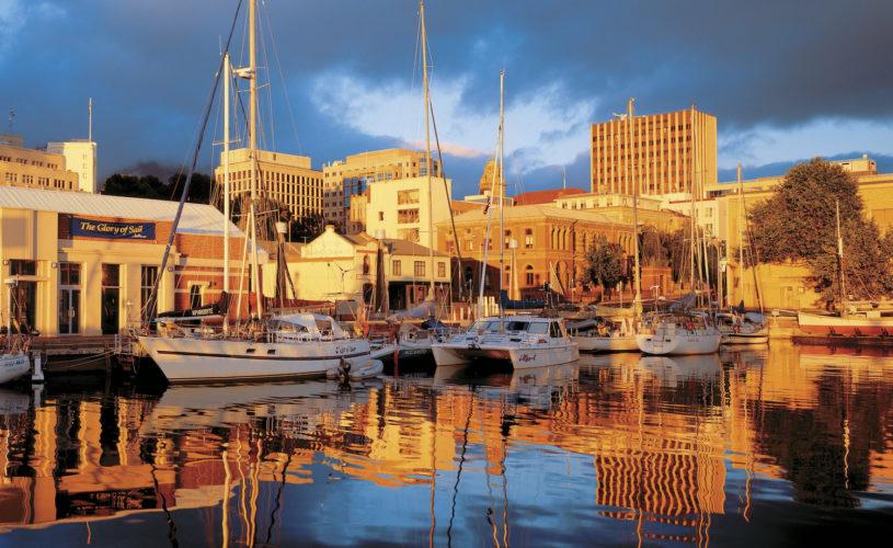 Hobart's stunning harbour