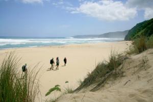 Walkers on Johanna Beach, Great Ocean Road, Walkers on Johanna Beach, Great Ocean Road, Victoria