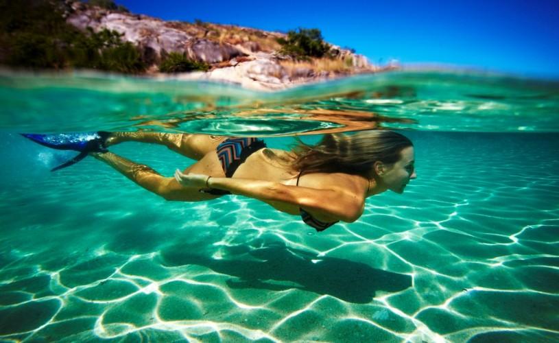 Snorkelling at Lizard Island