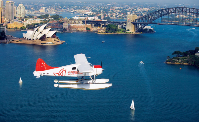 See the sights of Sydney by seaplane
