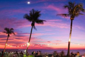 Sunset at Ski Club Darwin Image credit: Brett Nelson