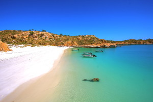 Beach Picnic on the True-North - a Kimberley Wilderness Cruise