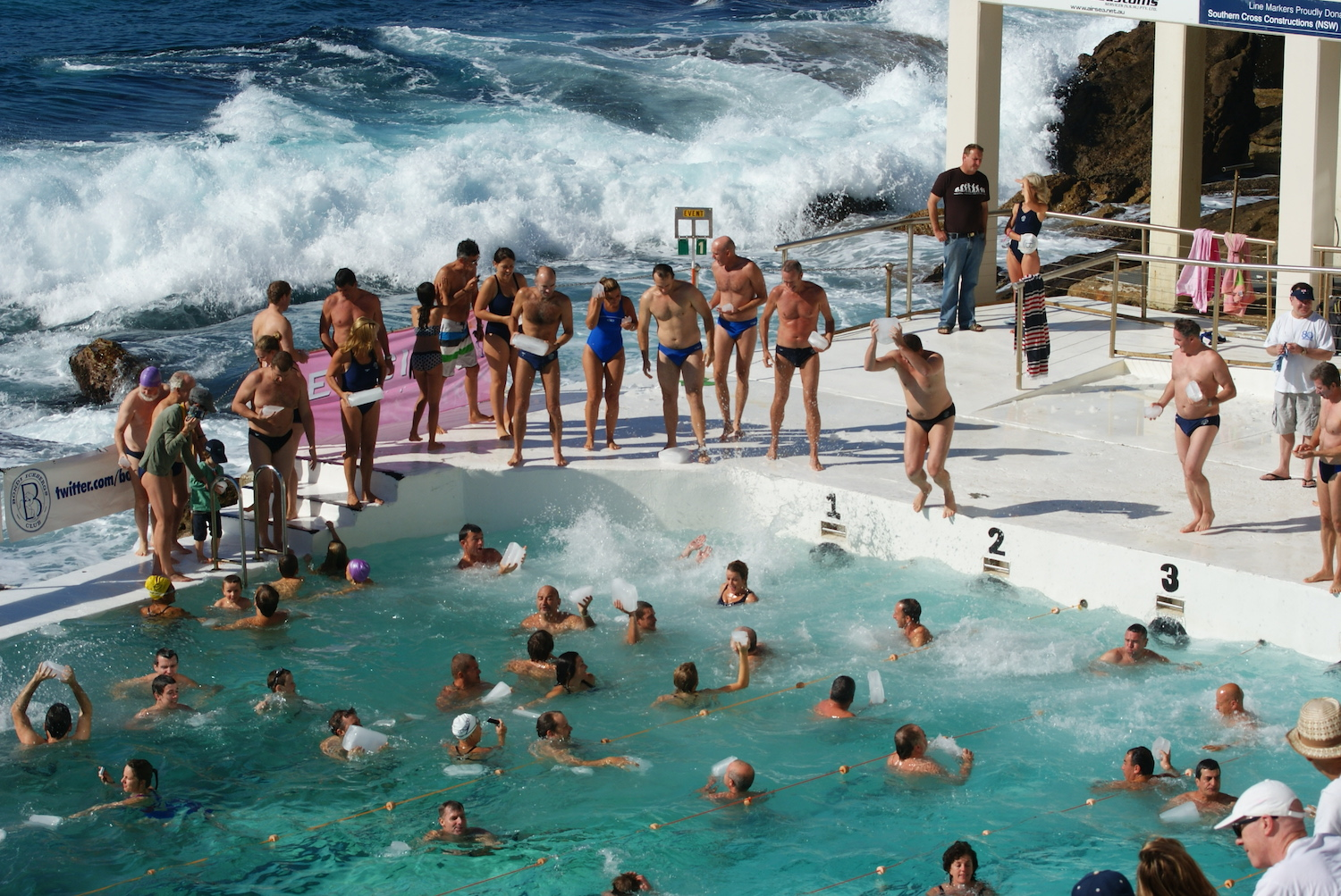 Bondi Icebergs Winter Swimming season launch