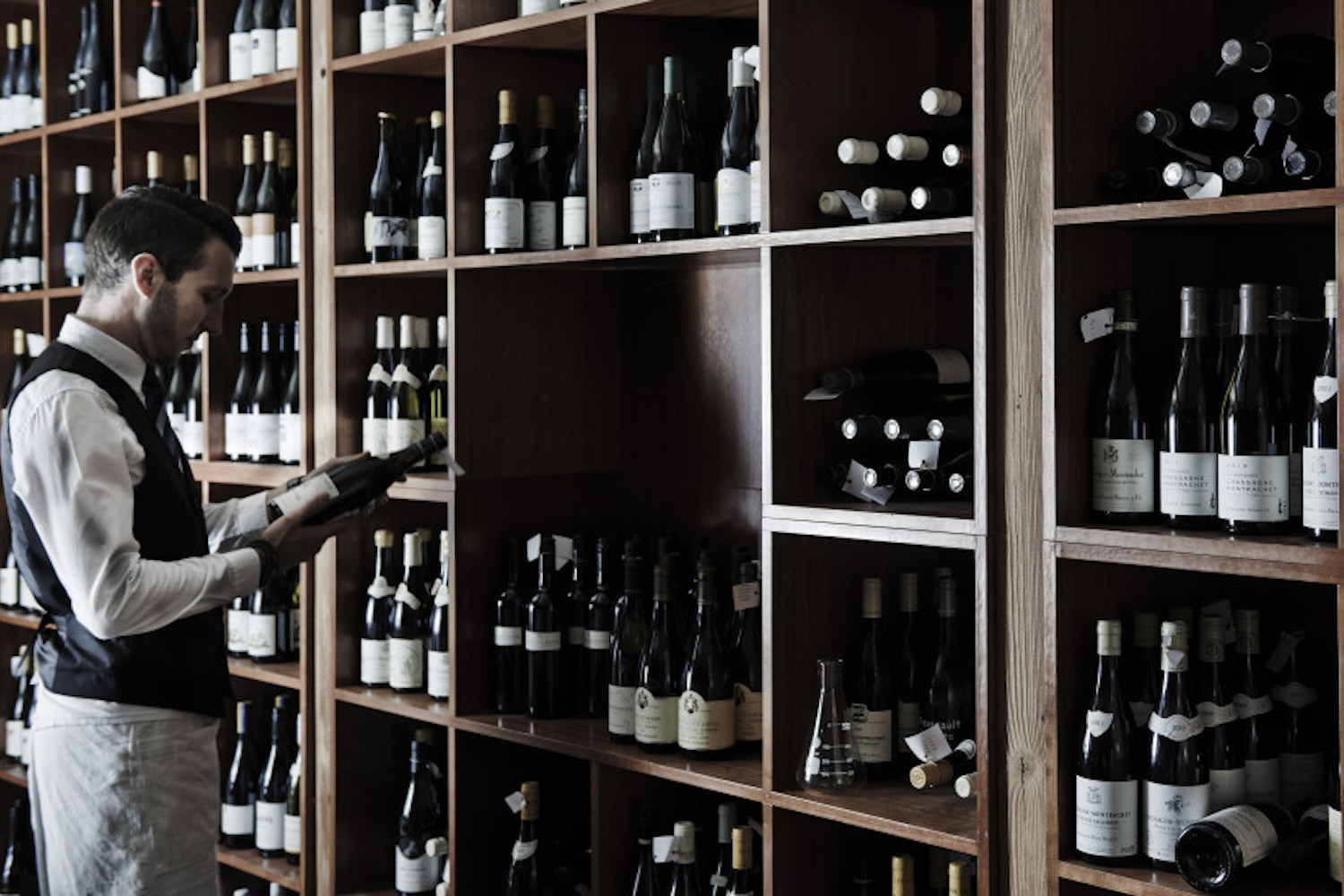 One of the unique and exclusive Australian experiences is visiting the cellar at the Lake House, Daylesford
