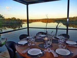 Lakeside Dining At Crystalbrook Lodge