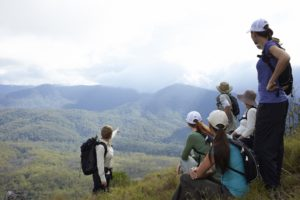 The summit on day 2 of the Scenic Rim Trail