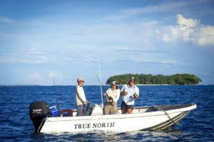 Fishing for barramundi on the True North