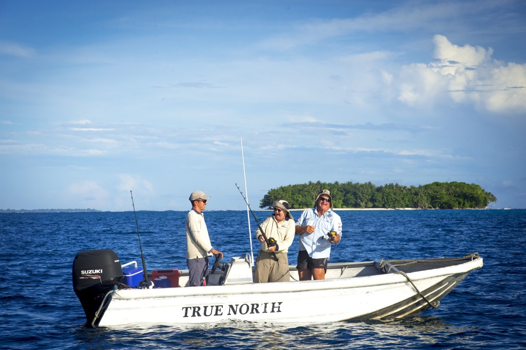 Fishing for barramundi on the True North