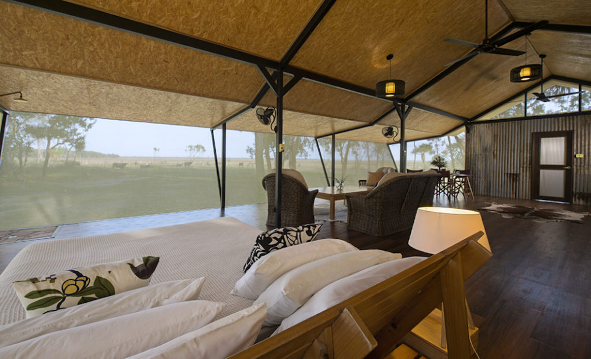 The Kingfisher Suite at Bamurru Plains