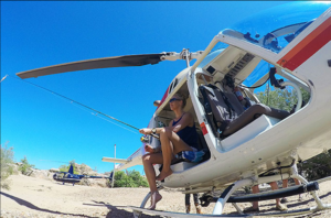 Private heli tours of Queensland