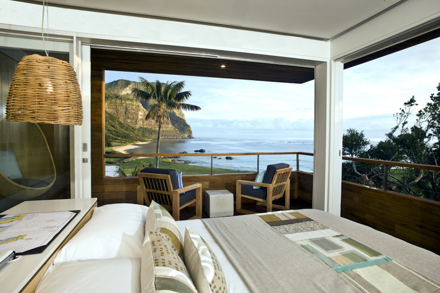 Capella Lodge is a luxurious retreat on Lord Howe Island