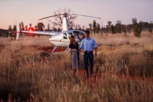 A helicopter experience at Longitude 131° is not to be missed.