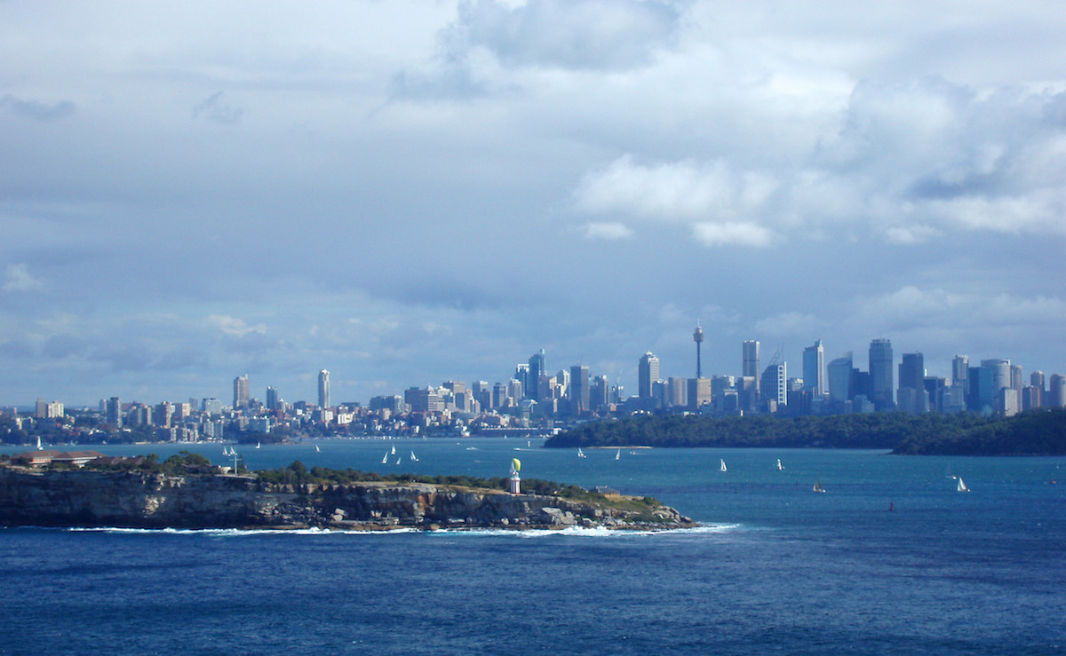 sydney and south head