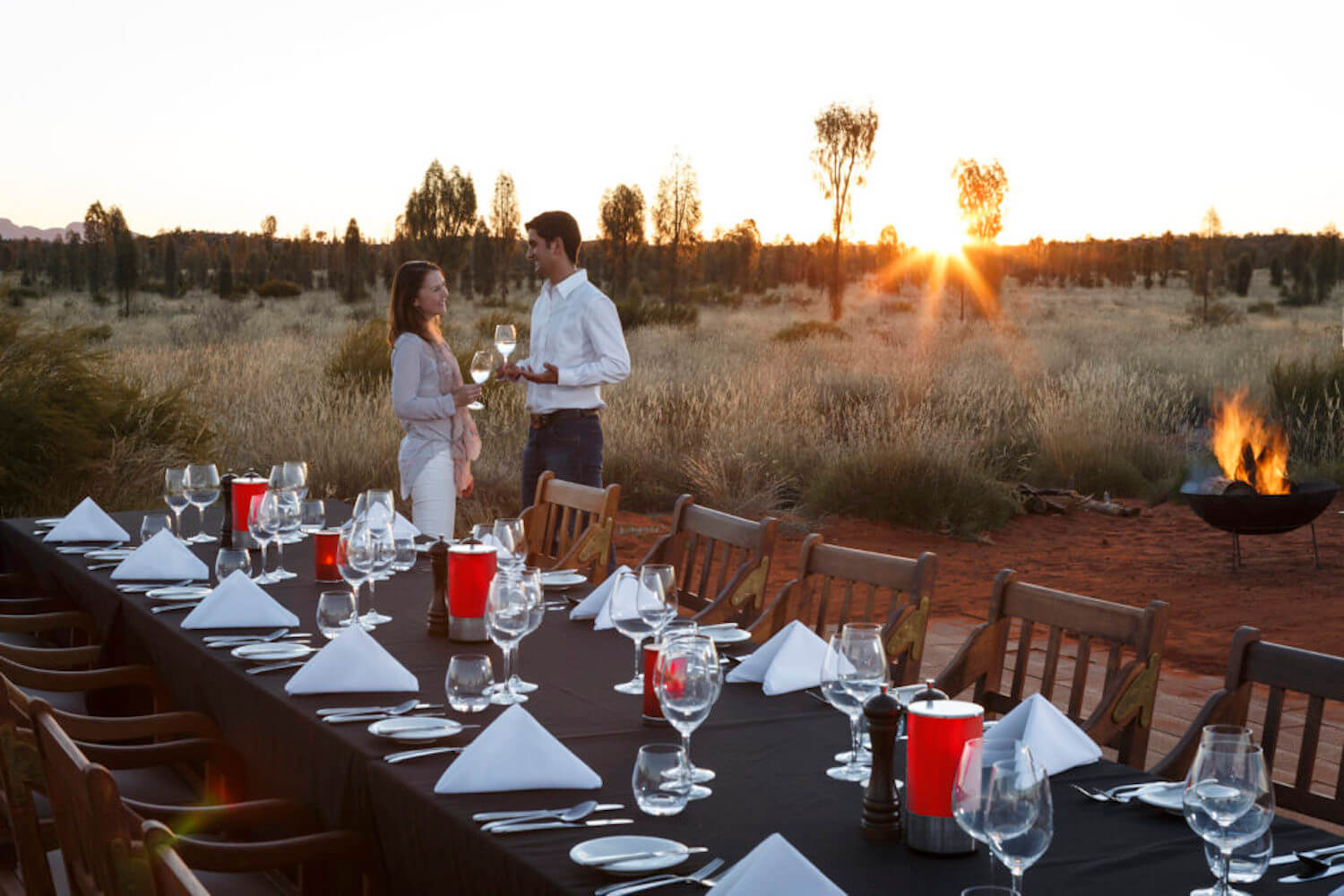 Table 131°, a spectacular dinner under the stars