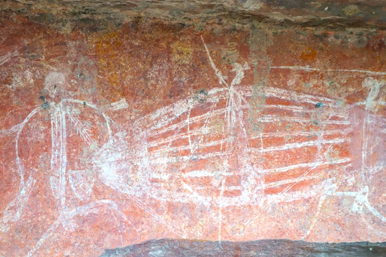Aboriginal Rock Art - Ubirr - Image credit: Peter Boer