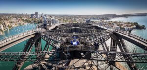 Dining in the sky with BridgeClimb