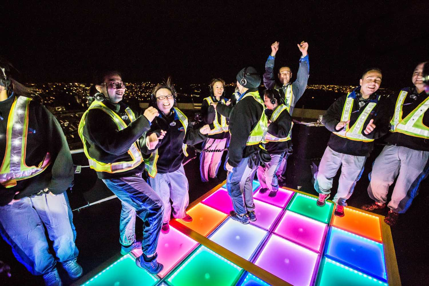 BridgeClimb at Vivid 2016