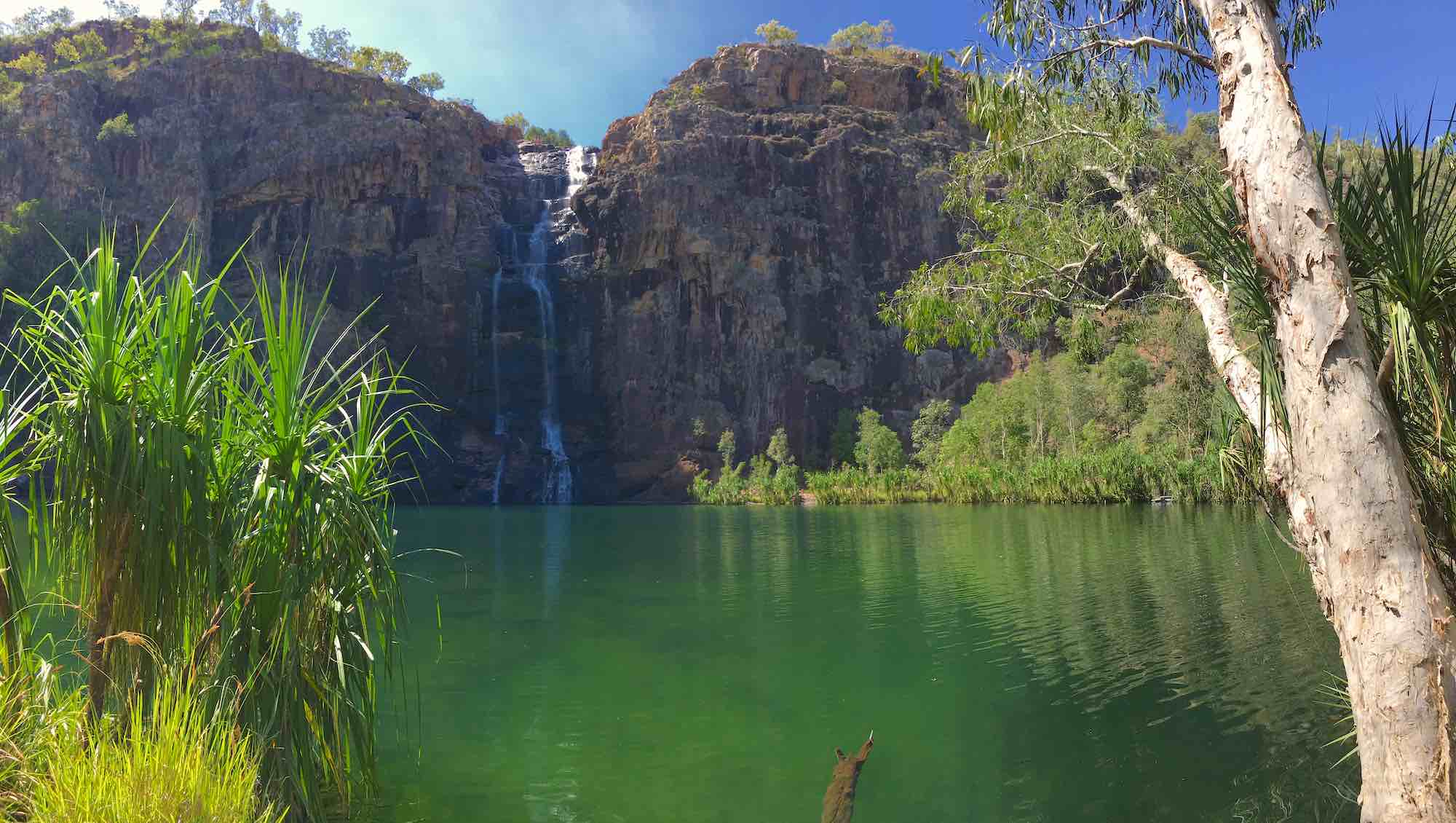Gunlom Falls in Kakadu
