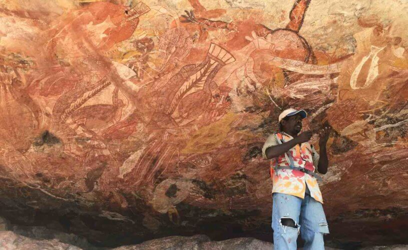 Injalak Rock art in Arnhemland