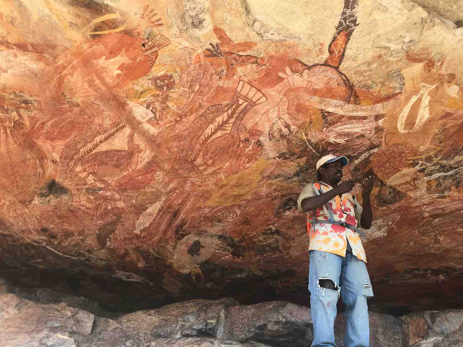 Injalak Rock art in Arnhemland
