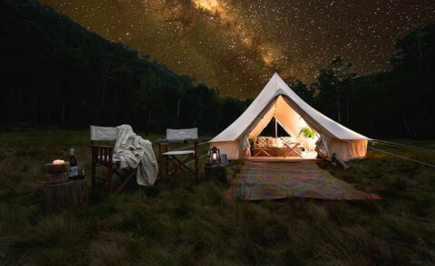 A 3 day wilderness glamping event in the Southern Highlands – 27 to 29 October 2017