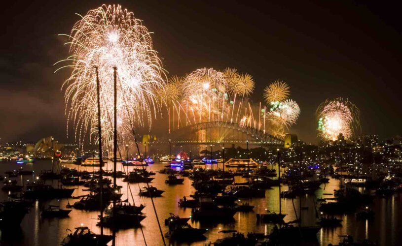 New Year's Eve in Sydney by luxury yacht – an exclusive cruise for Alquemie clients