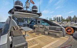 Sydney luxury yacht
