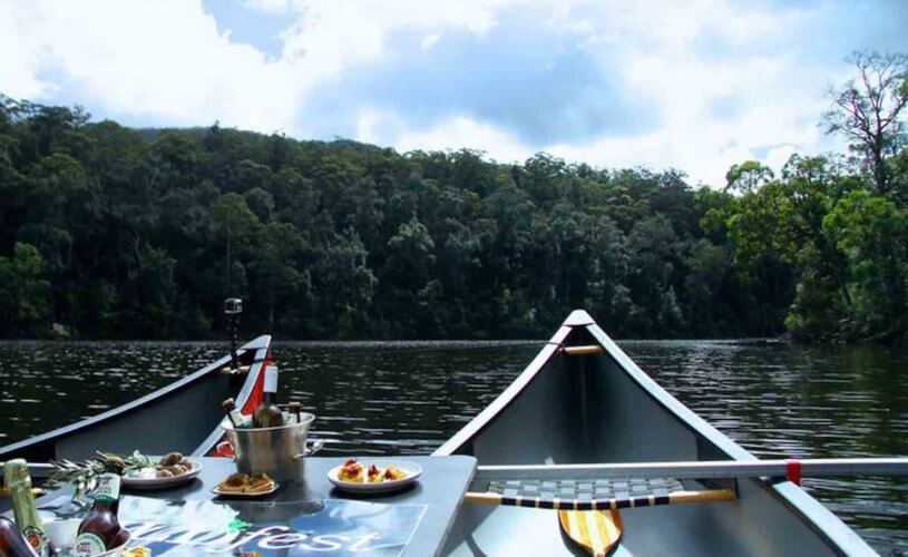 Canoes, Champagne & Canapes Weekend- Saturday 17 – Sunday 18 October