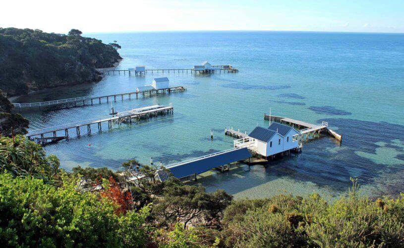 Sorrento pier on the Mornington Peninsula