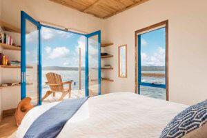 Accommodation on Picnic Island in Freycinet
