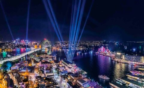 Open skies to city lights: The Kimberley to Vivid Sydney 2019