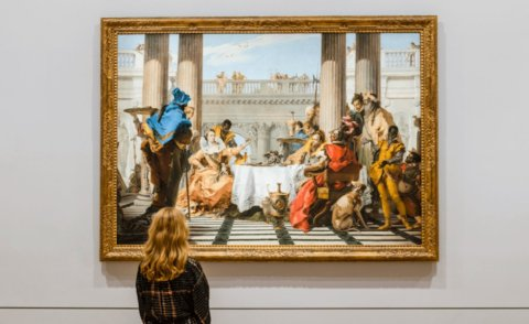 THE BANQUET OF CLEOPATRA – A PRIVATE DINNER IN THE NATIONAL GALLERY OF VICTORIA